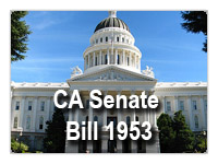 ISAT seismic bracing California senate bill 1953