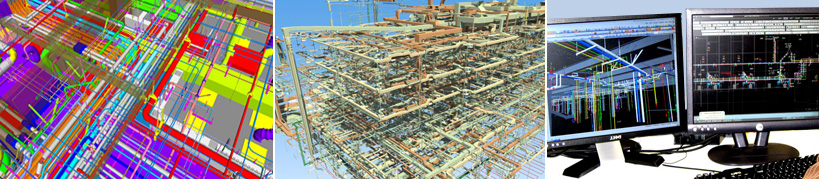 3D BIM and CAD services