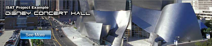 ISAT project example Disney Concert Hall