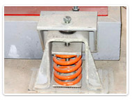 Seismic Restraint Isolators and Snubbers