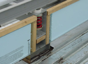 Vibration Isolation Curb (Model ESR)